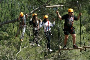 adventure porrera priorat tarragona vies altes tirolina 2016 fixe petzl Catalonië