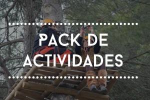 pack de actividades Vies Altes parque de aventura tirolina Catalunya Tarragona Porrera Priorat