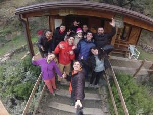 Vies Altes parque de aventura Priorat Porrera mastreclass de tirolina
